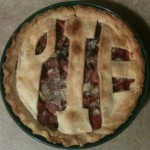 Home Made Three-Letter Pie
